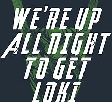 We're up all night to get LOKI dark by kramprusz