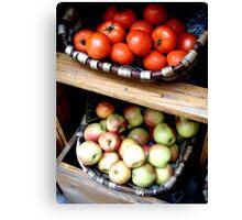 Fruits & Veggies in St. Paul DeVence Canvas Print