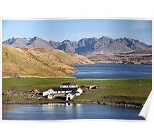 Gesto Bay Isle of Skye Poster
