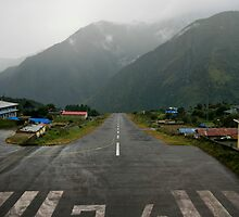 Lukla Airport by Richard Heath