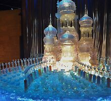 Yule Ball Ice Sculpture by clarebearhh