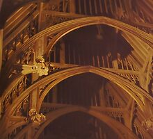 Great Hall Ceiling  by clarebearhh