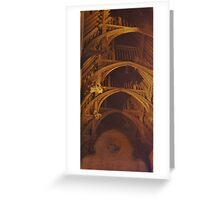 Great Hall Ceiling  Greeting Card