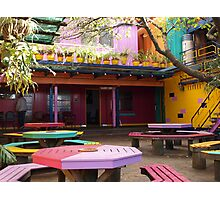 paint ON special, Monarch Beer Garden Photographic Print