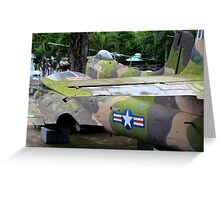 US Air Force Aircraft - Ho Chi Minh City, Vietnam. Greeting Card
