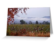 Darley in the fog Greeting Card