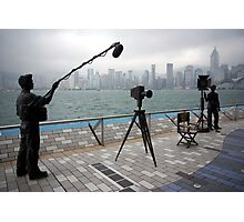 Avenue of the Stars, Hongkong Harbor. Photographic Print