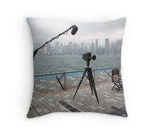 Avenue of the Stars, Hongkong Harbor. Throw Pillow