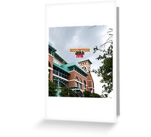 Houston Home of Baseball Fever #2 Greeting Card