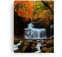 R B Rickets Falls Canvas Print