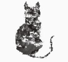 Splatter Cat One Piece - Short Sleeve