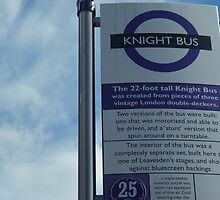 The Knight Bus - Bus Stop by clarebearhh