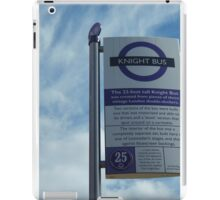 The Knight Bus - Bus Stop iPad Case/Skin