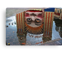 Luna Park Reflection Canvas Print
