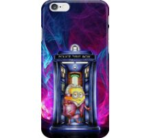 12th Doctor Cartoons Parody iPhone Case/Skin