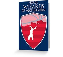 Washington Wizards - Game of Thrones Edition Greeting Card