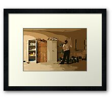 Projection Life Framed Print