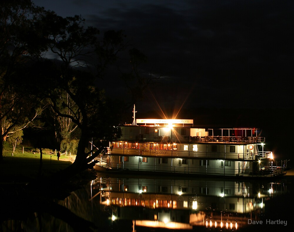 Murray River Boating by Dave  Hartley