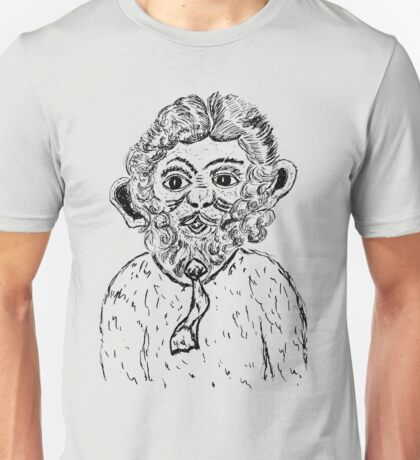 Weird Monkey Sketch Unisex T-Shirt