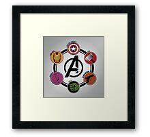 Avengers Logo Framed Print