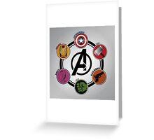 Avengers Logo Greeting Card