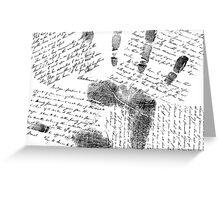 Human Communication Greeting Card