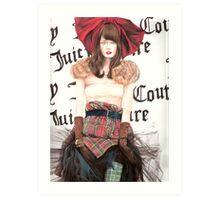 Juicy Couture Art Print