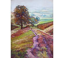Descent to Ollerbrook - Collaboration with Mikebov Photographic Print