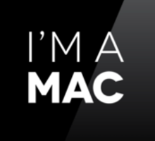 That's right - I'm a MAC Sticker