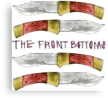 Talon of the Hawk - The Front Bottoms  Canvas Print