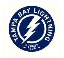 Tampa Bay Lightning Art Print