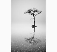 Lone Tree in the Mist Unisex T-Shirt