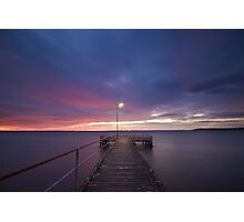 Light at the End of the Pier Photographic Print