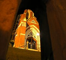 Golden Arches - Albert Street Uniting Church, Brisbane by Deanna Roberts Think in Pictures