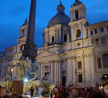 Piazza Navona by Matt Bishop