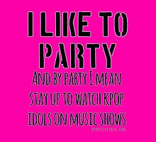 Kpop idols on music shows is a party by dubukat