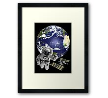 Greetings from outer space... Framed Print