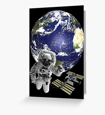 Greetings from outer space... Greeting Card