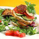 Chicken Burger à la Liz by SmoothBreeze7