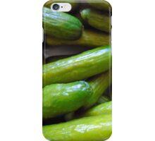 restaurant decor gherkin, gherkins, cucumber iPhone Case/Skin