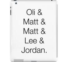 O&M&M&L&J iPad Case/Skin
