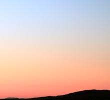 Staffin Sunset Skye Sticker