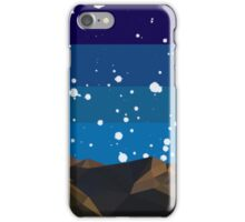 Poly Mountain and Stars iPhone Case/Skin
