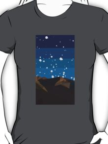Poly Mountain and Stars T-Shirt