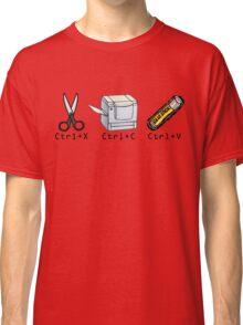 Cut, Copy, Paste Classic T-Shirt