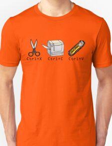 Cut, Copy, Paste Unisex T-Shirt