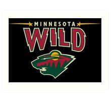 Minnesota Wild Alternate Art Print