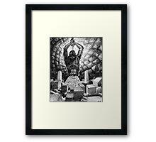 AMALEK OMEGA Framed Print