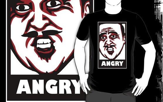 AngryAussie T-Shirt (for dark shirts) by AngryAussie
