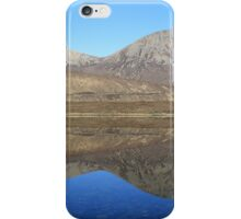 Loch Ainort reflections - Panorama iPhone Case/Skin
